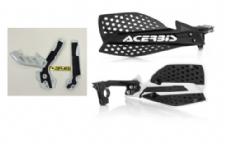 New Acerbis Frame Cover X-Grip WHT SX SXF 250 11-15 X Ultimate HandGuards BLK